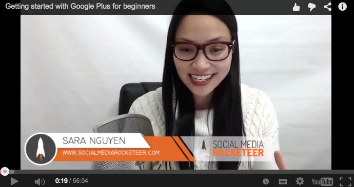 Getting Started with Google Plus for Beginners [Webinar Video Replay]