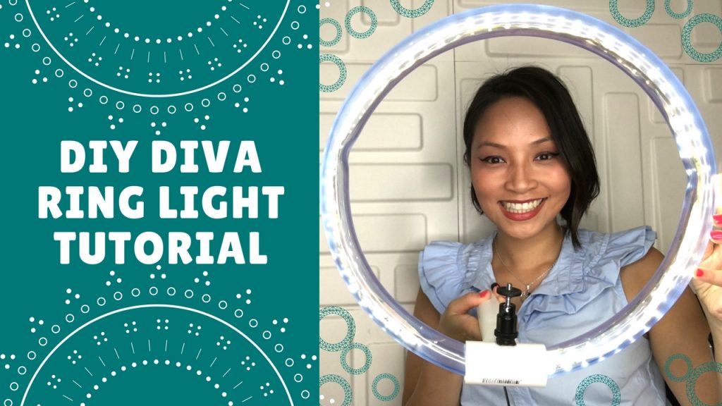 DIY Ring Light Tutorial – How to make your own Ring Light