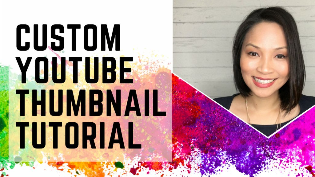 How to create a custom YouTube Thumbnail