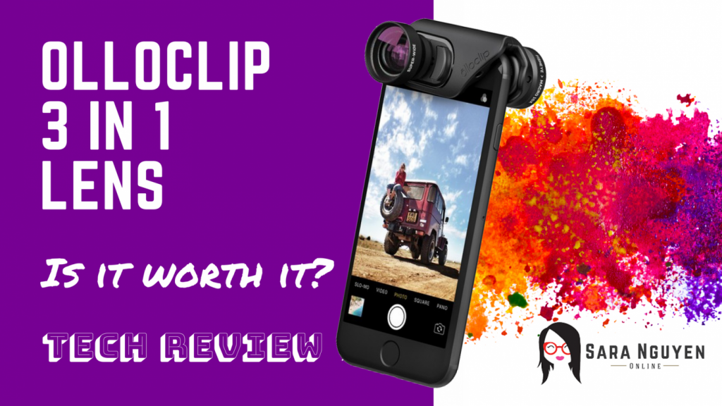 Olloclip 3 in 1 Lens Clip review