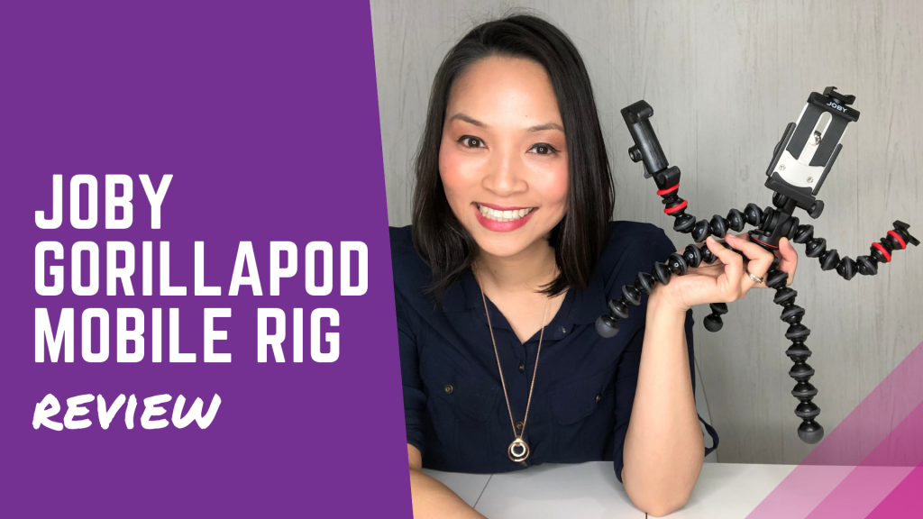 Best phone tripod? Joby GorillaPod Mobile Rig review